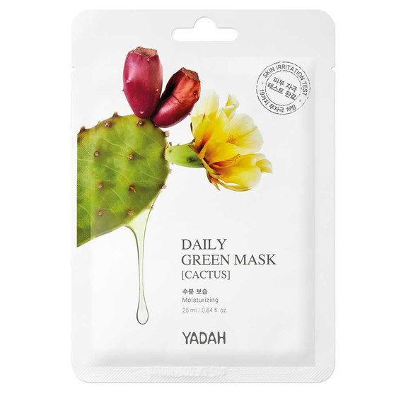 DAILY GREEN MASK - CACTUS 1pcs