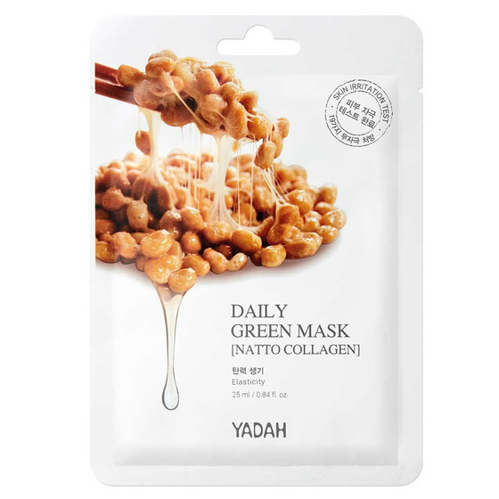 DAILY GREEN MASK - NATTO COLLAGEN 1pcs